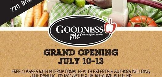 Goodness Me! Mississauga – Opening July 10th!