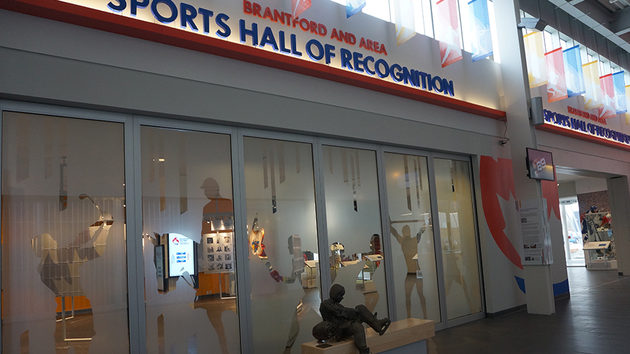 Wayne Gretzky Sports Centre Sports Hall Of Recognition Grand Opening Paulsan Construction Inc