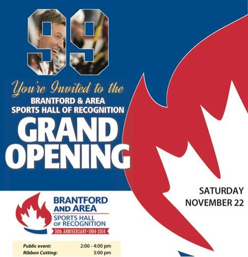 Wayne Gretzky Sports Centre Sports Hall of Recognition – Grand Opening