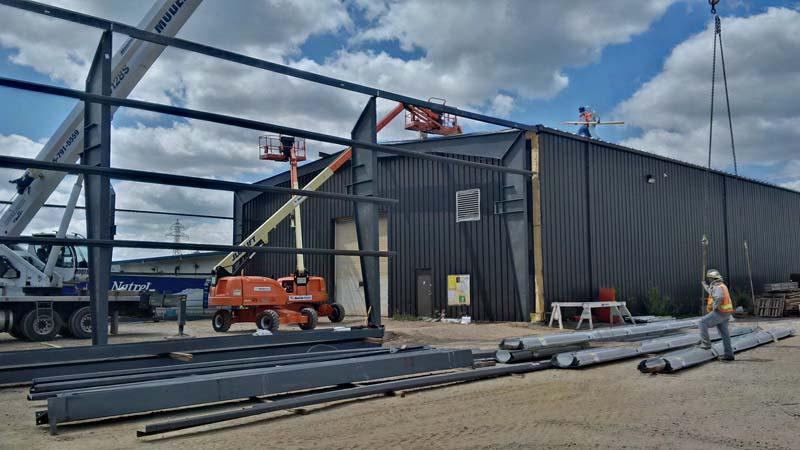 Hunter Steel – Paulsan Construction Inc